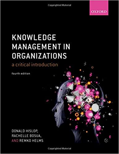 Knowledge Management in Organizations: A critical introduction book cover