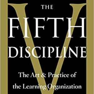The Fifth Discipline: The Art & Practice of The Learning Organization book cover