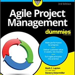 Agile Project Management For Dummies book cover