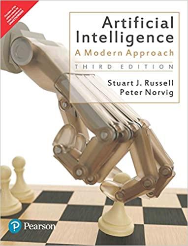 Artificial Intelligence A Modern Approach book cover