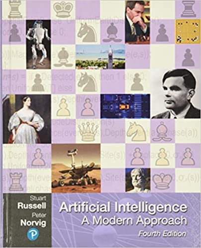 Artificial Intelligence- A Modern Approach book cover