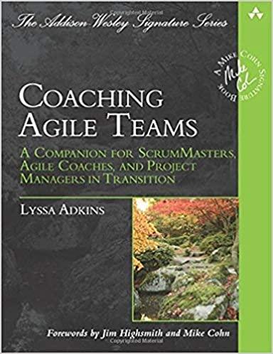 Coaching Agile Teams book cover