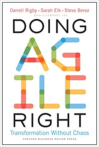 Doing Agile Right book cover