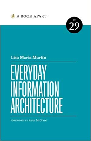 Everyday Information Architecture book cover