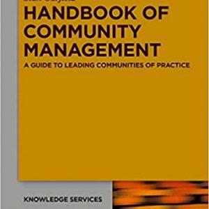 Handbook of community management book cover