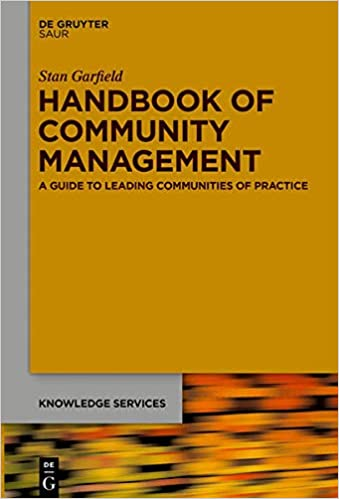 Handbook of community management book cover