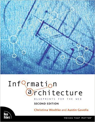 Information Architecture- Blueprints for the Web book cover