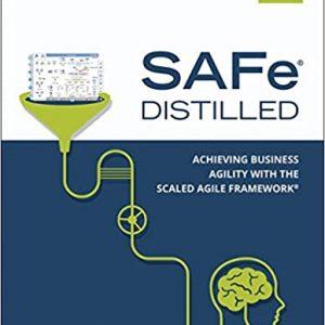 SAFe 5.0 Distilled book cover