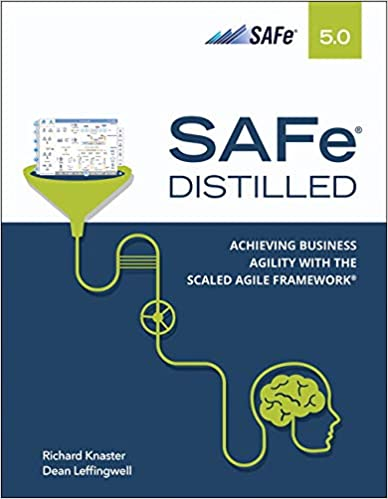 SAFe 5.0 Distilled book cover